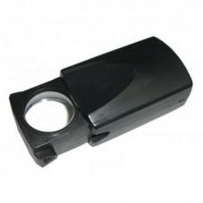 Увелич. стекло складное MG21009 c LED подсветкой, 20Х, диам.18мм