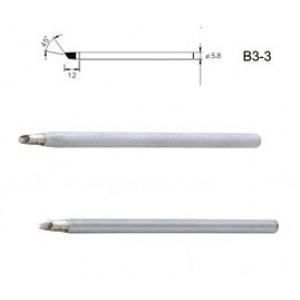 Жало 6мм медное с никелевым напылением B3-3