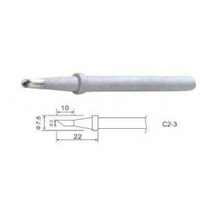 Жало C2-3 для паяльников ZD-99 58W, ZD-200C 60W