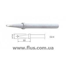 Жало C2-4 для паяльников ZD-99 58W, ZD-200C 60W