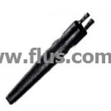 Щетка ESD, ZD-155В, 140х16мм, 2 пучка