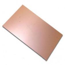 Стеклотекстолит фольгированный односторонний (толщина 1,5 мм, размер 300мм*200мм)