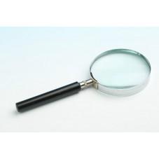 Лупа ручная круглая, 3-х кратное увеличение, диам.-75мм (MG86048)