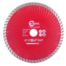 Диск отрезной Turbo, алмазный 180 мм, 22-24% INTERTOOL CT-2009
