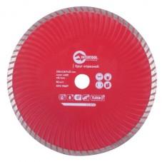 Диск отрезной Turbo, алмазный 230 мм, 22-24% INTERTOOL CT-2010