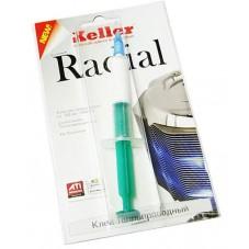 РАДИАЛ, ТЕПЛОПРОВОДНЫЙ КЛЕЙ(2мл), шприц на блистере. Применяется в случае отсутствия крепежных элементов.