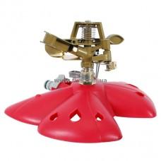 Дождеватель пульсирующий с полной/частичной зоной полива на базе, круг/сектор полива до 12 м, metal INTERTOOL GE-0074