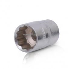 """Головка двенадцатигранная, 1/2"""", 20 мм INTERTOOL ET-0220"""