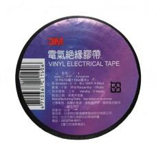 Виниловая изолента 3М, черная, 19 мм х 25м