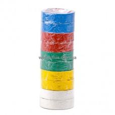 Лента изоляционная 0,15 мм x 17 мм x 10 м цветная (упаковка 10 шт) INTERTOOL IT-0014