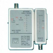 Тестер кабельный G248 (8P+BNC)