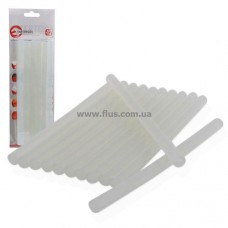 Комплект прозрачных клеевых стержней 11,2 мм x 200 мм, 12 шт INTERTOOL RT-1020