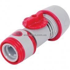 Конектор регулирующий или отключающий поток воды. INTERTOOL GE-2002
