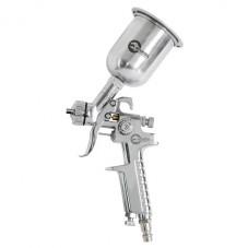 HP STEEL MINI PROF Краскораспылитель 0,5 мм, верхний металлический бачок 125 мл. INTERTOOL PT-0306