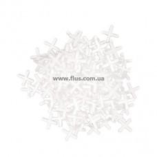 Набор дистанционных крестиков для плитки 6,0 мм / 100 шт INTERTOOL HT-0356