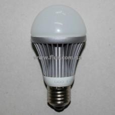 Лампочка светодиод. 220В, 7Вт, Е27, 6500K, холодный свет, диам.-60мм