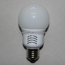 Лампочка светодиод. 220В, 3Вт, Е27, 6500K, холодный свет, диам.-60мм