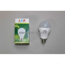 Лампочка светодиод. 220В, 7Вт, Е27, алюм.корпус, натуральный свет