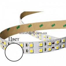 LED лента (5050SMD, 120Led/м), 12V, белая, 5м/бухта