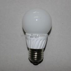 Лампочка светодиод. 220В, 5Вт, Е27, 6500K, холодный свет, диам.-50мм