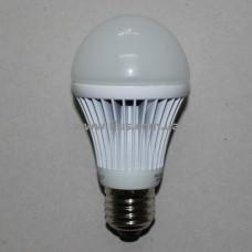 Лампочка светодиод. 220В, 9Вт, Е27, 6500K, холодный свет, диам.-60мм