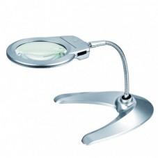 Лупа настольная гибкая, круглая, диам-130мм Magnifier 4B-10