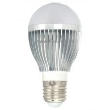 Лампочка светодиод. 220В, 5Вт, Е27, алюм.корпус, натуральный свет