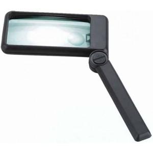 Ручная лупа MG84027 с LED подсветкой, 2.5X