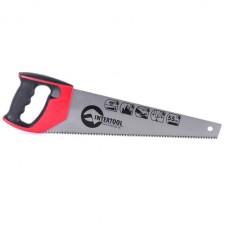 Ножовка по дереву 400 мм с каленым зубом, 3-ая заточка 7 зуб.x1