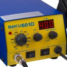 Паяльная станция с паяльником и феном BAKU BK-601D
