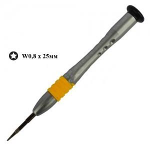 Отвертка прецизионная W0,8, R'Deer 39328