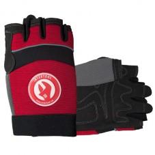 Перчатка Microfiber без пальцев, вставки спандекса и неопрена, эластичный манжет на липучке, 10