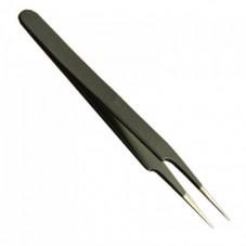 Пинцет ESD ZD-156E 115мм (антистатический) немагнитный  острый