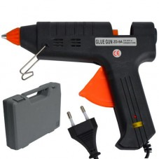 Пистолет клеевой ZD-9В c регулятором температуры, 200W, в кейсе