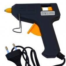 Клеящий пистолет MI-02, под клей 7мм, 25W, чёрный