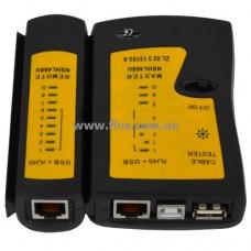 Кабельный тестер витой пары + USB
