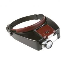 Бинокуляры MG81007A налобные с Led подсветкой (увеличение 1,5х 3x 8,5х 10х)