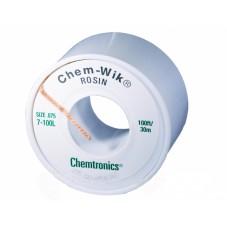 Распаивающая лента с флюсом Chem-WIK HQ-WICK-L3 2мм/30м