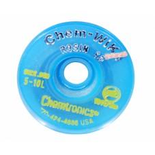 Распаивающая лента с флюсом Chem-WIK HQ-WICK-M2 1,5мм/3м
