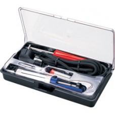 Набор паяльного инструмента ZD-972B (паяльник+оловоотсос+припой+подст.+жало)