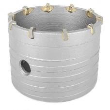 Сверло корончатое по бетону 80 мм INTERTOOL SD-0422