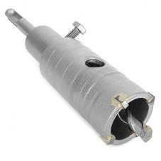 Комплект: сверло корончатое по бетону 36 мм+Переходник SDS Plus 100мм INTERTOOL SD-7036