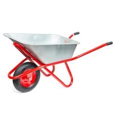 Тачка садово-строительная, 85 л., 150 кг, 1 пневмоколесо с подшипником 15