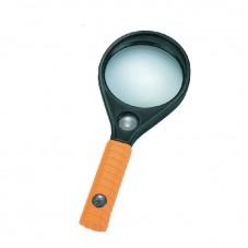 Ручная лупа круглая MG89075, увеличение 3X - 65мм, 8X - 16мм