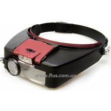 Бинокулярная лупа с LED подсветкой 1.5X 3X 8.5X 10X увеличения Magnifier 81007-A