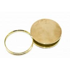Лупа ручная раскладная Gold, 4X увеличение, диаметр 62 мм, Magnifier 12093