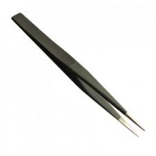 Пинцет ESD ZD-156A 125 мм (антистатический) немагнитный острый