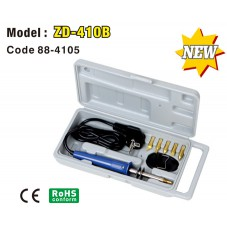 Набор для выжигания ZD-410B 30W/220V(+6 насадок)