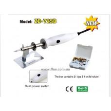 Набор для выжигания ZD-725B, 25-50W, 21 наконечник